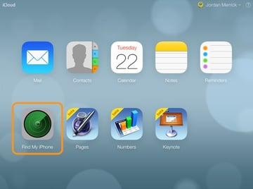 You can access the rather poorly-named Find My iPhone (which will located Macs) once you have logged into iCloud.