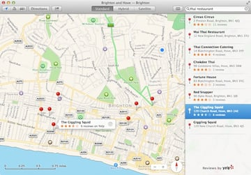 Local Search in Apple Maps