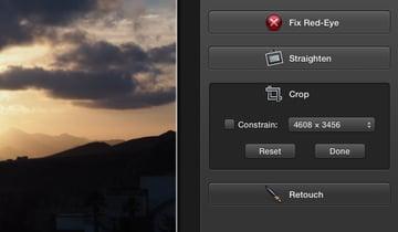 Click Crop.