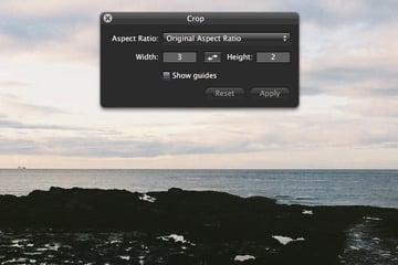 Select an aspect ratio.