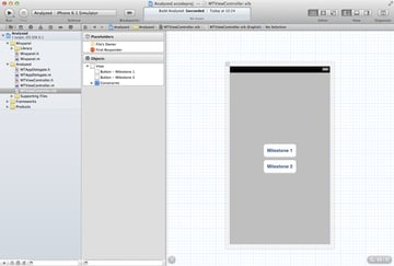 Mobile Analytics with Mixpanel: Creating the User Interface - Figure 9