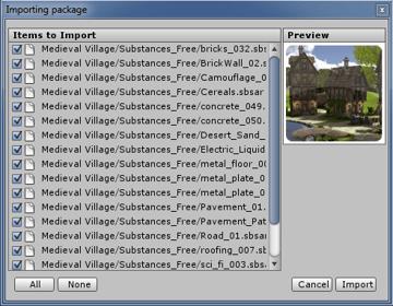 Import village