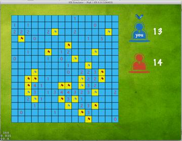 Figure 5: Blue player