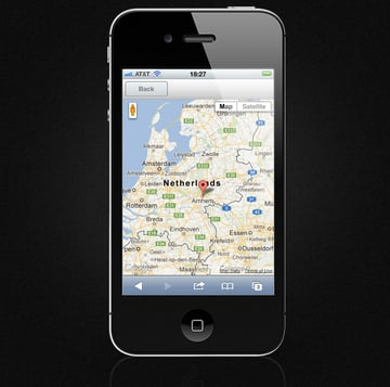 Mobile Event Calendar - Map View