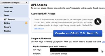 Places API Key