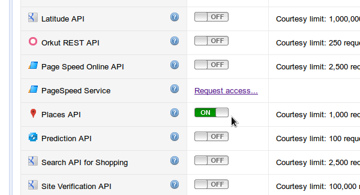 Places API On