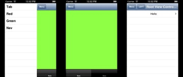 Simulator Screen shots