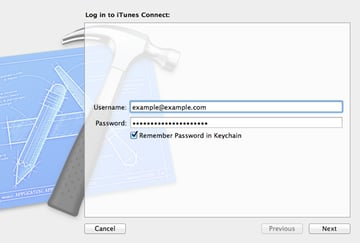 How To Submit an iOS App to the App Store - Enter Your iOS Developer Account Credentials