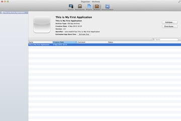 How To Submit an iOS App to the App Store - Archiving Your Application using Xcode