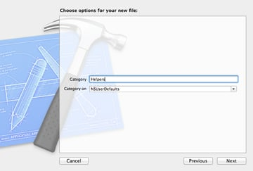 Create a Weather App with Forecast – User Interface - Creating a Category on NSUserDefaults