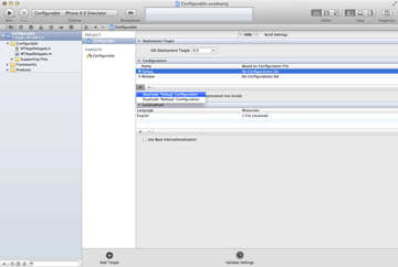 iOS Quick Tip: Managing Configurations With Ease - Duplicate Debug Configuration