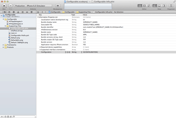 iOS Quick Tip: Managing Configurations With Ease - Adding a New Entry to Info.plist