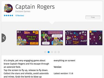 Firefox OS - Captain Rogers