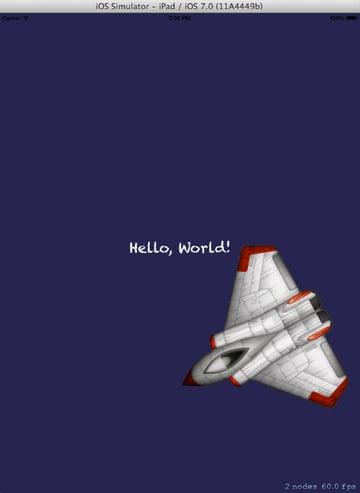 Figure 3 Hello World
