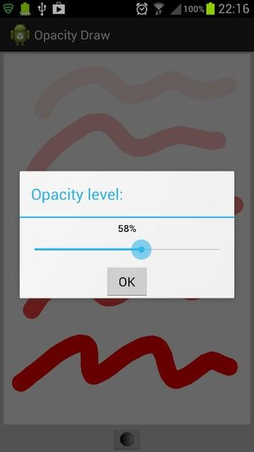 Opacity Level