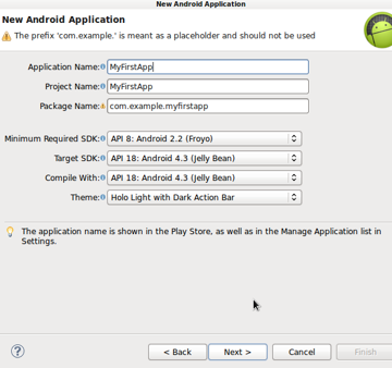 New Android Application