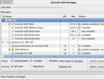 Android SDK Updates