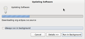 Eclipse Updating