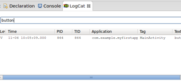 Search LogCat