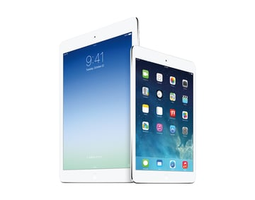 The changes of the iPad line-up were incremental.
