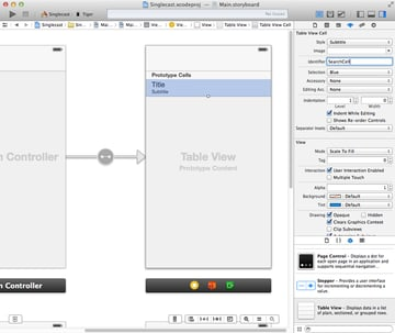 Create and configure a prototype cell.
