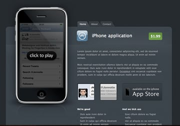 iPhone App Theme