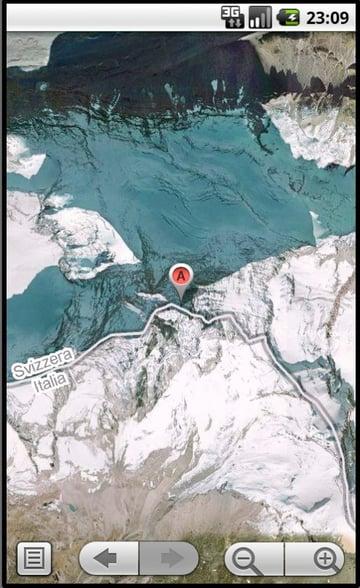 Matterhorn Map View