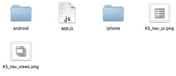 Appcelerator: The Resources Folder