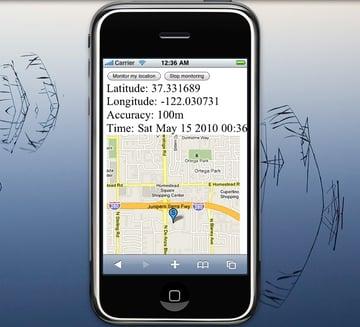 HTML5 Geolocation Maps API