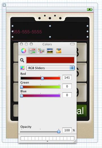 Adjusting Font Color Settings