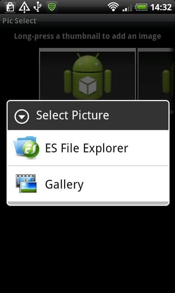 Image Chooser App Choice