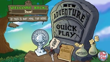 Android Plants vs Zombies UI