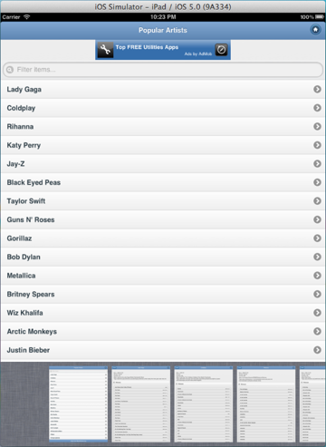 MusicBrainz Home Page Footer