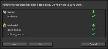 Save Prompt