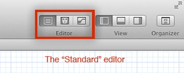 The 'Standard' editor