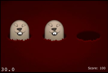 iPhone Open-Source Games: Cocos Whack Mole
