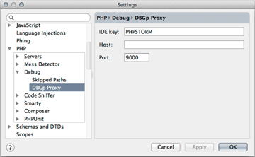 phpstorm-debug-settings