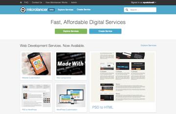 microlancer_homepage