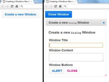 Functional buttons and checkboxes bro