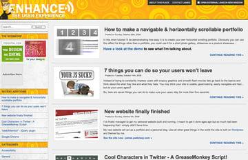 Enhance website