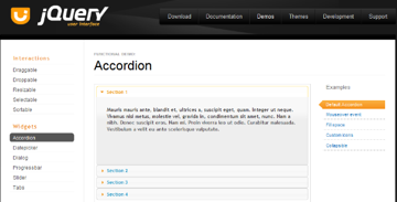 jQuery UI Home Page