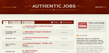 Authentic Jobs
