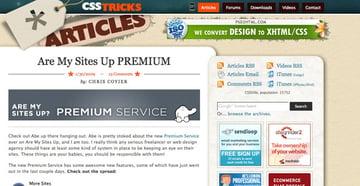 CSS-Tricks Screenshot