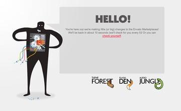 Envato Marketplace 404 Page