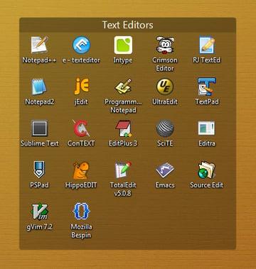 Windows Text Editors