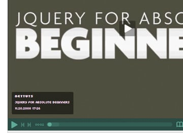 jQuery For Absolute Beginners Video Series