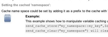 use a caching system