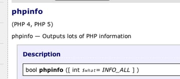 dont put phpinfo in your web root