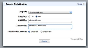 create-distribution-settings
