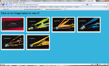 Our Gallery with CSS only